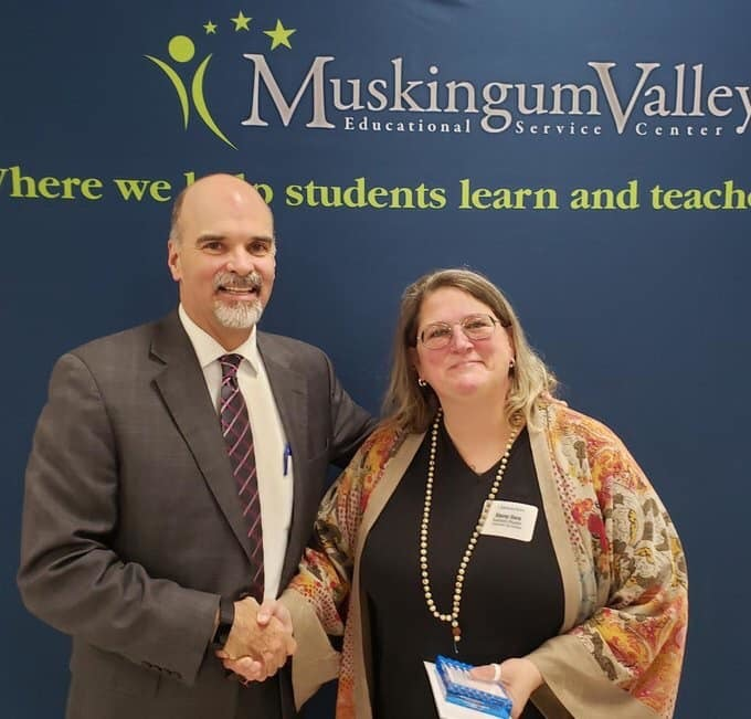 Stacey Ganz earns this year's MVESC Exemplary Educator